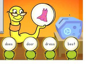 I create characters and storylines for several animated elementary school assessments. The goal was to make testing less stressful. Can there be anything less stressful than a worm wearing glassses?